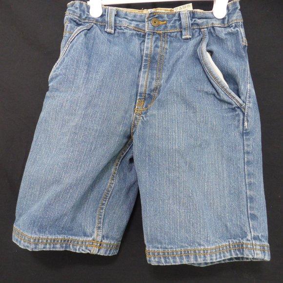 TIMBERLAND, jean shorts, size 6, boys BNWOT